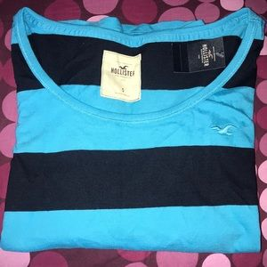 Hollister Crop 3/4 Baseball Tee